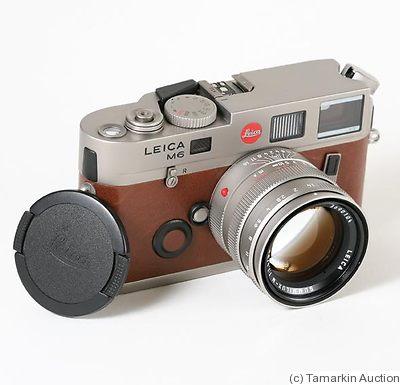 Leitz: M6 TTL  72 Titanium Price Guide: estimate a camera value