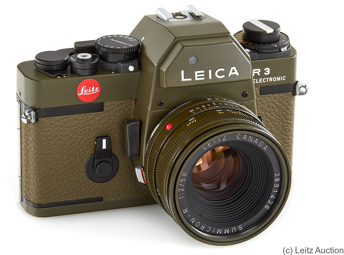 Leitz: Leica R3 Safari camera