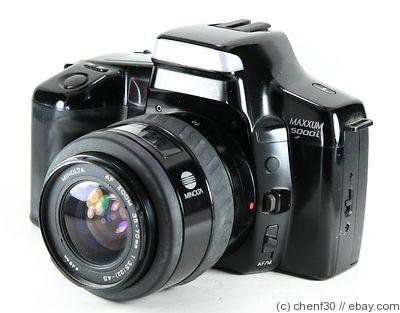 Minolta Camera Price Minolta Dynax 5000i Camera