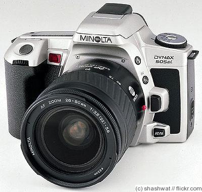 Minolta Camera Price Minolta Dynax 505si Camera