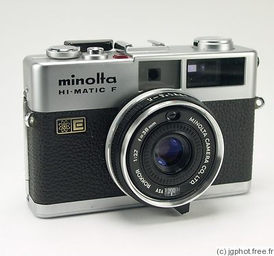Minolta: Hi-matic F camera