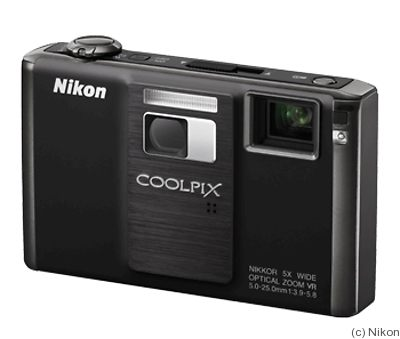 Nikon: Coolpix S1000pj camera