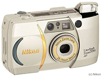 Nikon: Lite-Touch Zoom 70WS camera