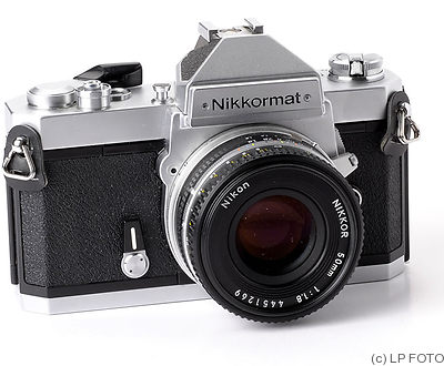 Nikon: Nikkormat FT3 (same as Nikomat FT3) camera