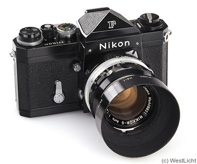 Nikon: Nikon F (eyelevel, black) Price Guide: estimate a