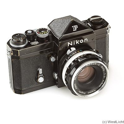 Nikon: Nikon F (eyelevel, black, 64*) Price Guide: estimate