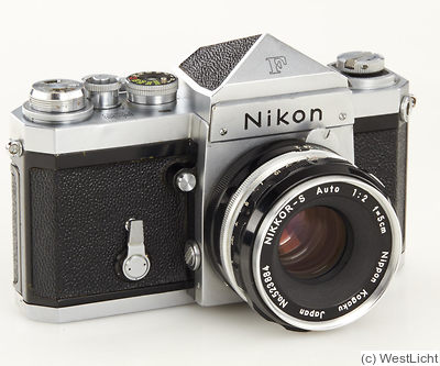 Nikon: Nikon F (eyelevel, chrome, first 1000) camera