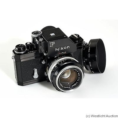 Nikon: Nikon F Photomic FTN camera