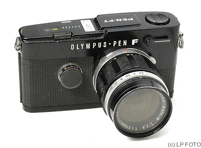 Olympus: Olympus Pen FT black camera