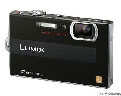 Panasonic: Lumix DMC-FP8 camera