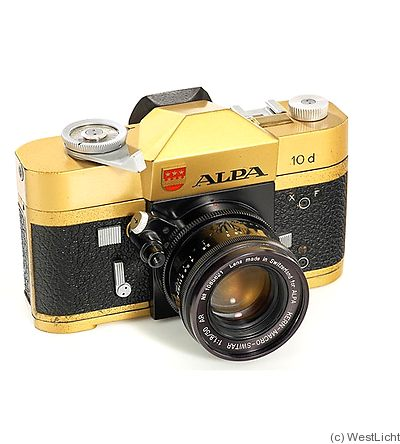 Pignons: Alpa 10d Gold camera