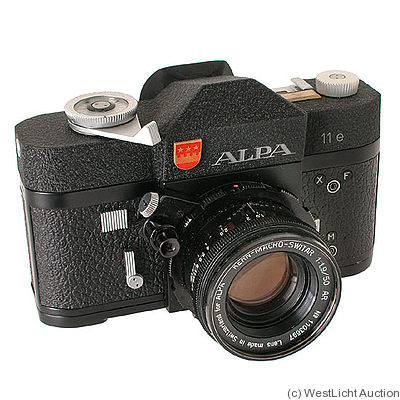 Pignons: Alpa 11e (black) camera