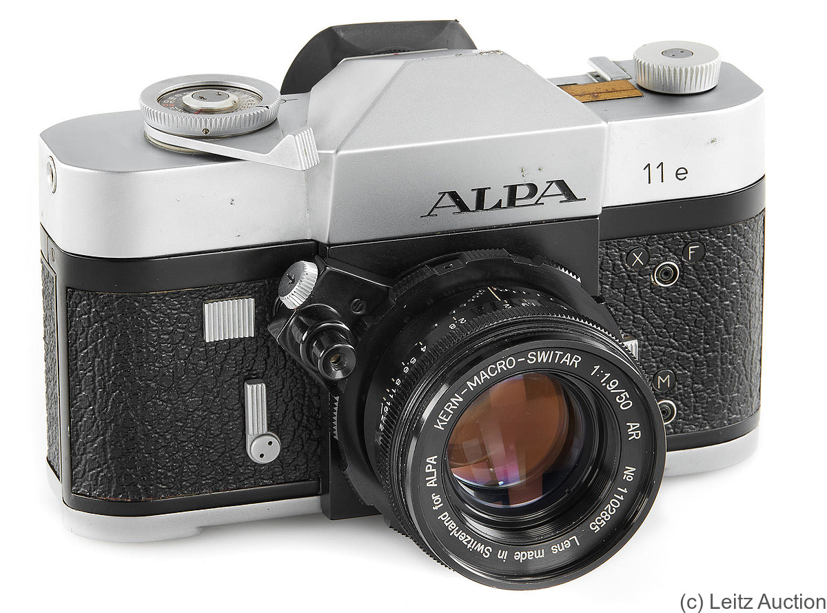 Pignons: Alpa 11e (chrome) camera