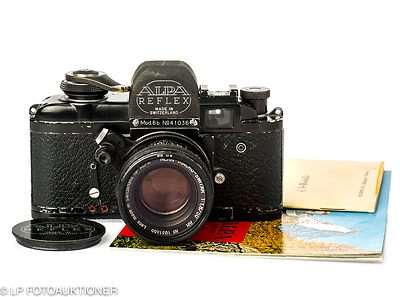 Pignons: Alpa 6b (black) camera