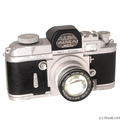 Pignons: Alpa 7 (display) camera