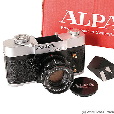 Pignons: Alpa 81 surgical camera