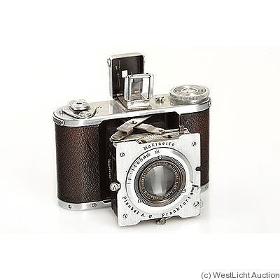 Plaubel: Makinette (chrome) camera