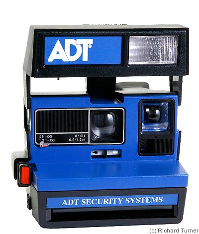Polaroid: ADT Security Systems camera