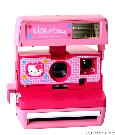 Polaroid: Hello Kitty camera
