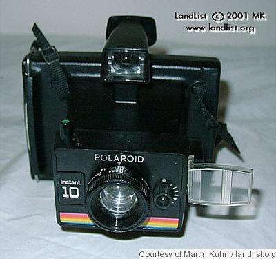 polaroid instant 10 price guide estimate a camera value. Black Bedroom Furniture Sets. Home Design Ideas