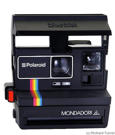 Polaroid: Monadori camera