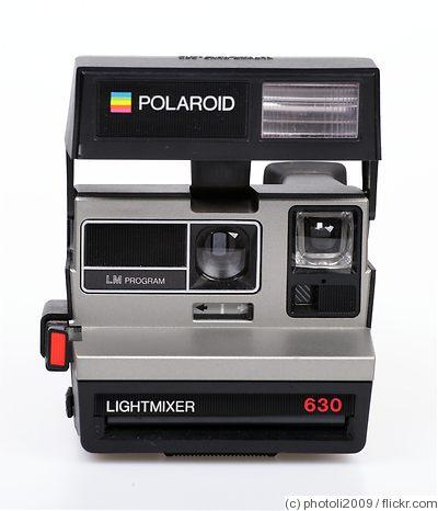 polaroid polaroid 630 lightmixer price guide estimate a camera value. Black Bedroom Furniture Sets. Home Design Ideas