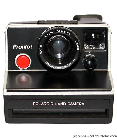 Polaroid: Pronto (non-folding) camera