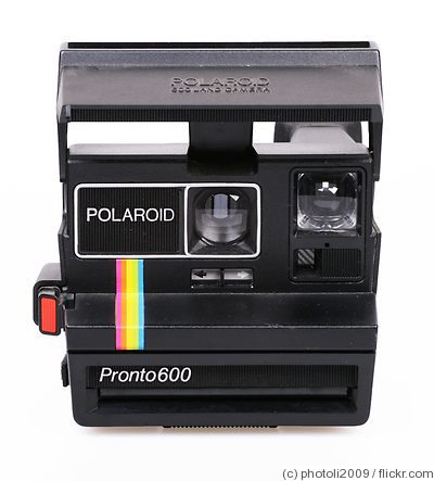 Polaroid: Pronto 600 camera