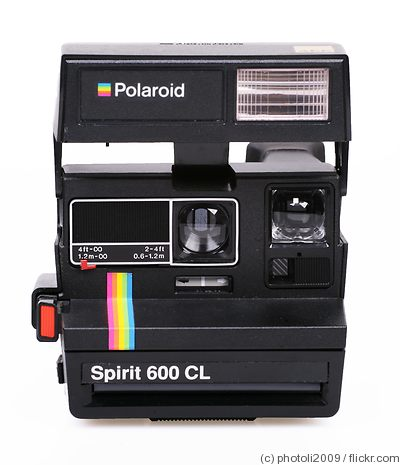 Polaroid: Spirit 600 CL camera