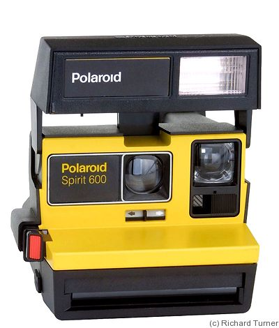 Polaroid: Spirit 600 camera