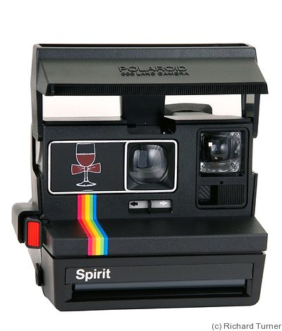 Polaroid: Spirit Bordeaux camera