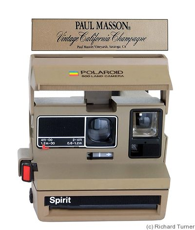 Polaroid: Spirit Paul Masson camera