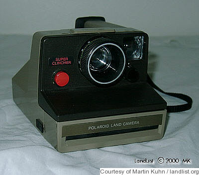 Polaroid: Super Clincher camera
