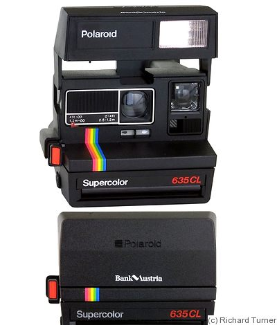 polaroid supercolor 635 cl bank austria price guide estimate a camera value. Black Bedroom Furniture Sets. Home Design Ideas
