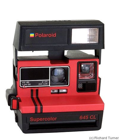 Polaroid: Supercolor 645 CL camera