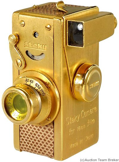 Riken: Steky I (golden) camera