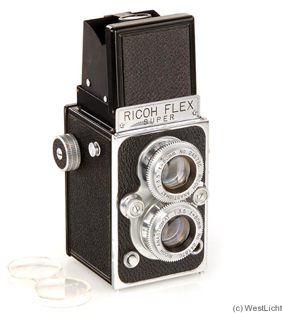 Riken: Super Ricohflex (prototype) camera