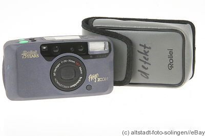 Rollei: Prego Zoom '75 Jahre' (75th anniversary) camera