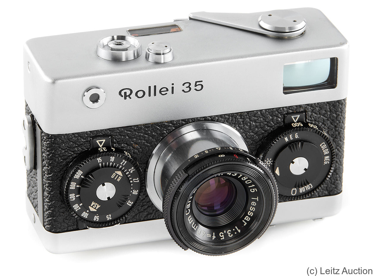 Rollei: Rollei 35 (O-Series, first 8000) camera