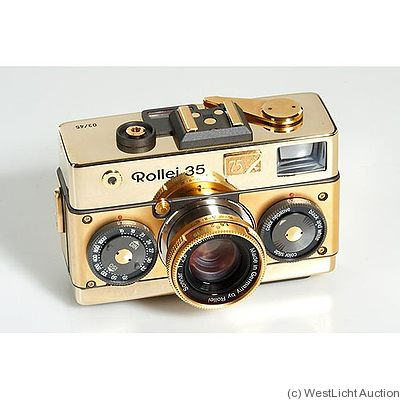 Rollei: Rollei 35 Classic Gold '75 Years' camera