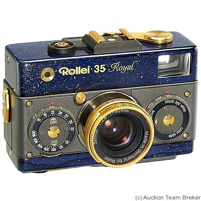 Rollei: Rollei 35 Classic Royal 'Star' camera