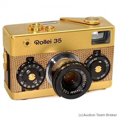Rollei: Rollei 35 Gold (Singapore) camera