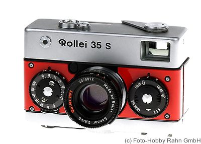 Rollei: Rollei 35 Prototype (red) camera
