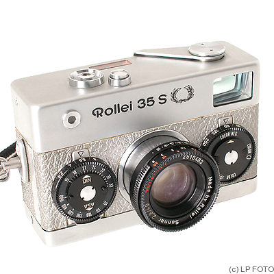 Rollei: Rollei 35S silver camera