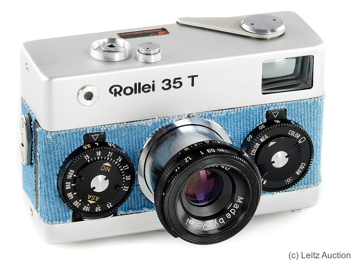 Rollei: Rollei 35T 'Jeans' camera