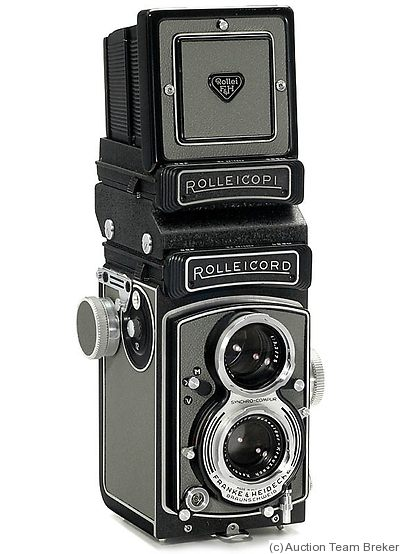 Rollei: Rolleicord Vb Philips (outfit) camera