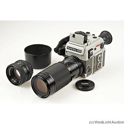 Rollei: Rolleiflex 3003 Traveller set camera