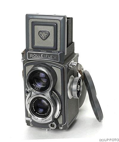 Rollei: Rolleiflex 4x4 Baby grey Price Guide: estimate a camera value