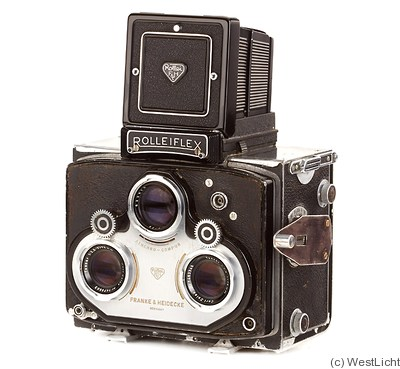 Rollei: Rolleiflex Stereo 'Hans Hass' (prototype) camera