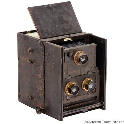 Ross: Twin Lens Reflex Stereo camera